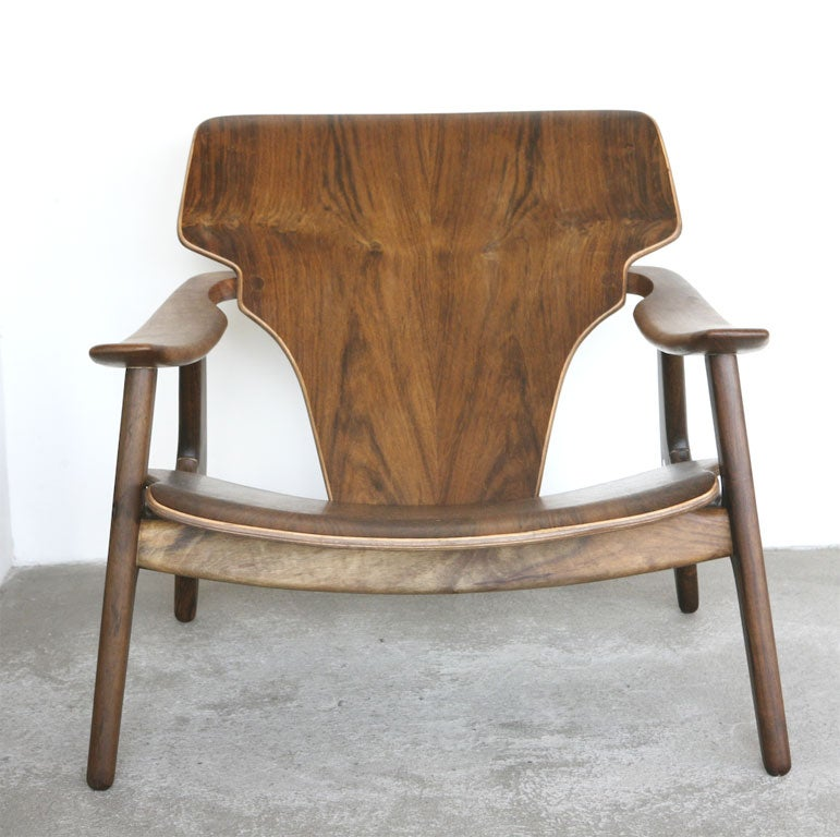 Diz Chair by Sergio Rodrigues In New Condition For Sale In Los Angeles, CA