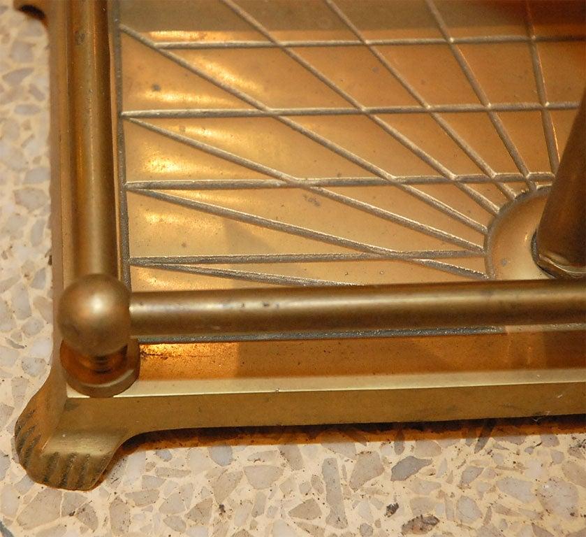 Solid Brass Vinatge Golf Fireplace Tools At 1stdibs