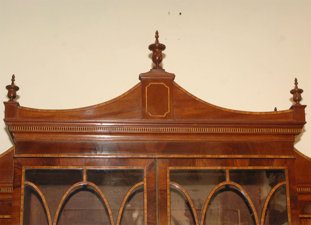 18th Century and Earlier Breakfront Secretary Bookcase For Sale