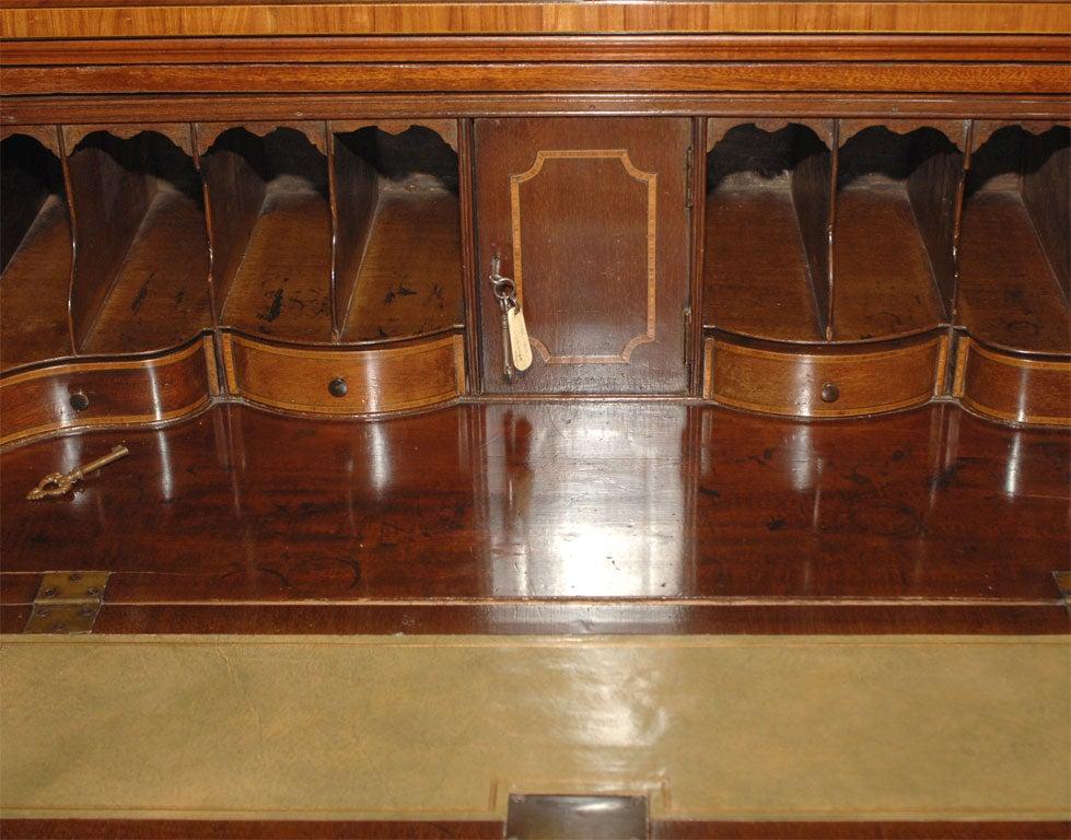 Breakfront Secretary Bookcase For Sale 3
