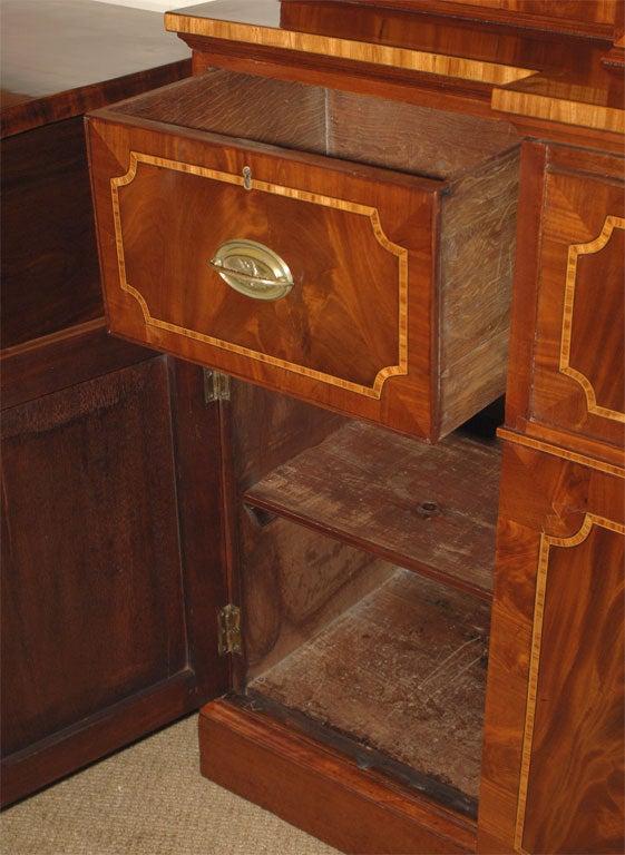 Breakfront Secretary Bookcase For Sale 4