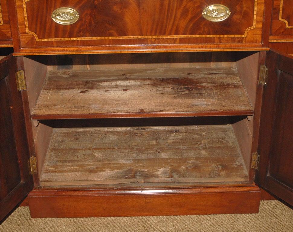 Breakfront Secretary Bookcase For Sale 5