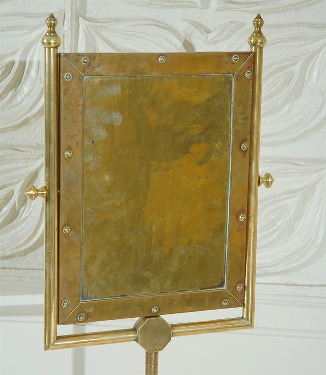 Ornate vanity cheval style floor mirror at 1stdibs for Floor vanity mirror
