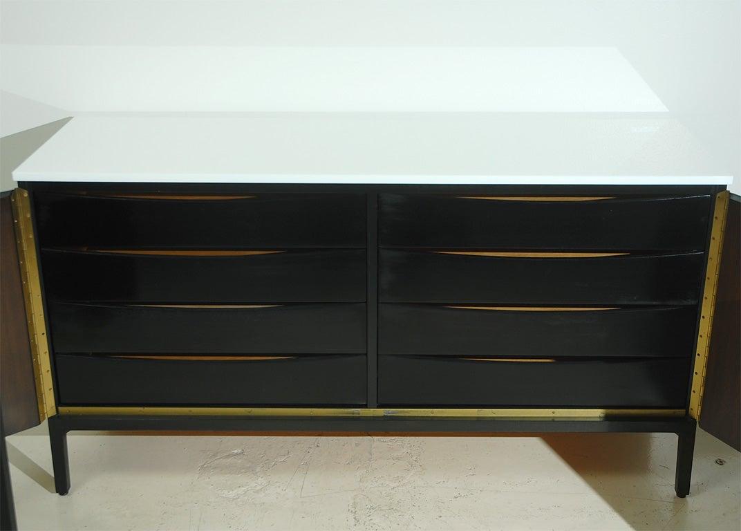 Paul Mccobb For Calvin Sideboard Dresser At 1stdibs