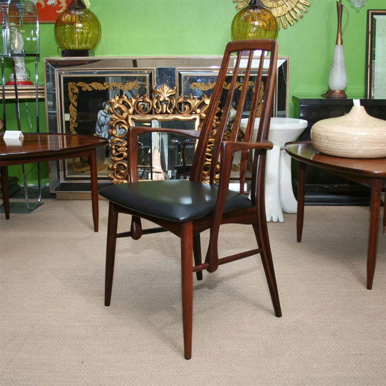 Set Of 6 Rosewood Dining Room Chairs At 1stdibs