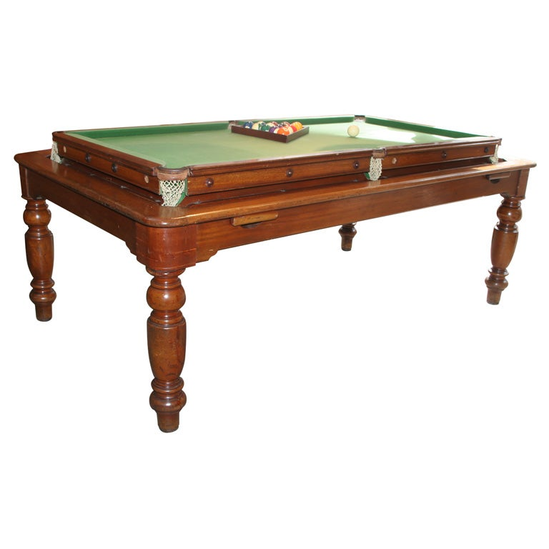 Dining table antique billiard dining table Pool dining table