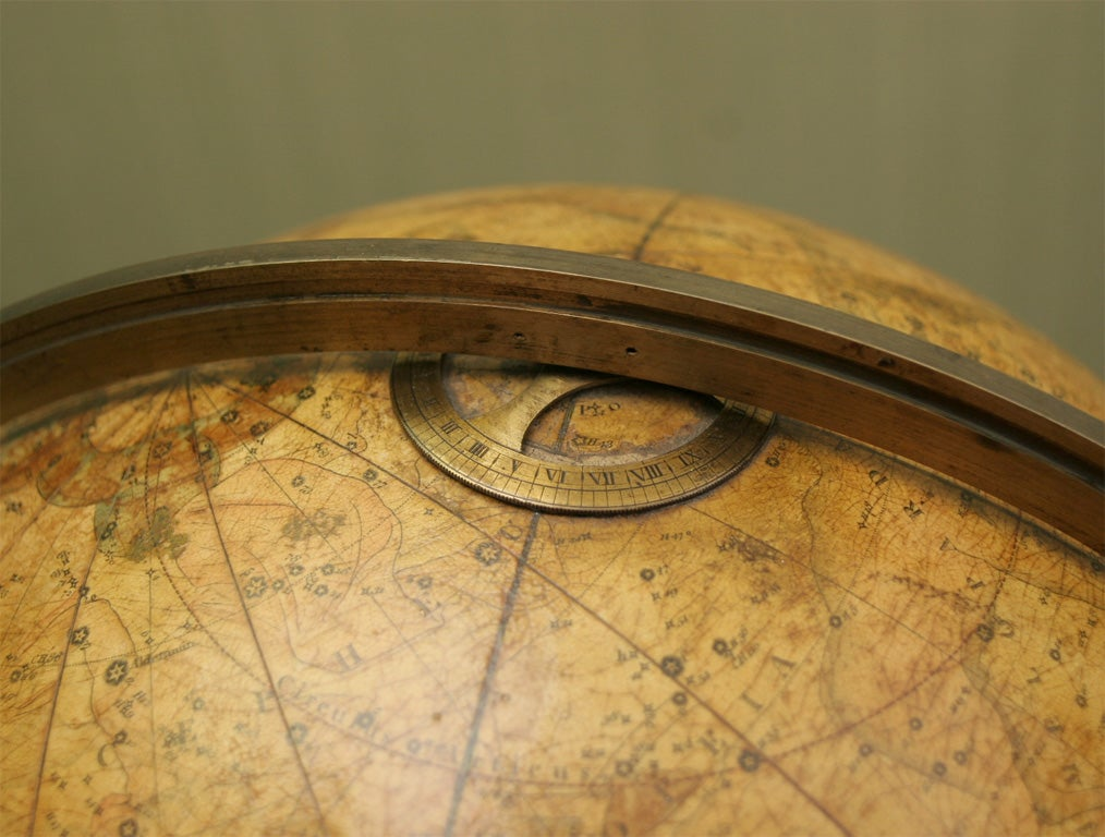 Antique Pair of Cary's Table Globes, circa 1800 and 1816 For Sale 1