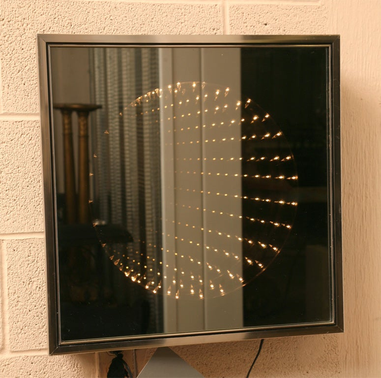 infinity light box wall art at 1stdibs
