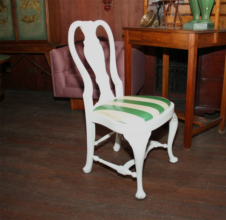 American Set of Four Dorothy Draper Side Chairs For Sale