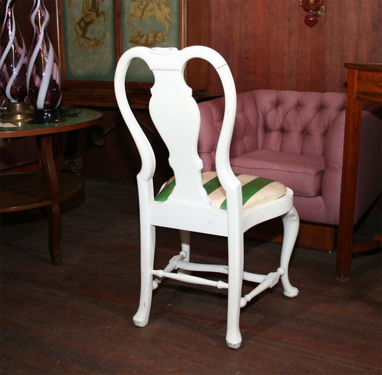 Set of Four Dorothy Draper Side Chairs For Sale 3