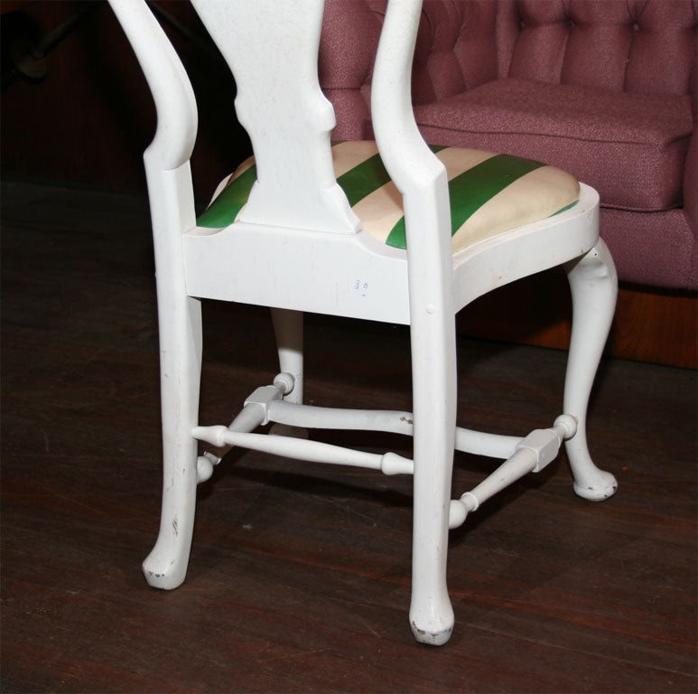 Set of Four Dorothy Draper Side Chairs For Sale 4