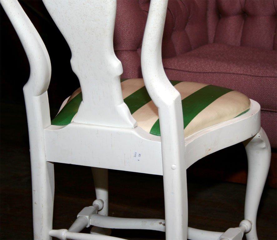 Set of Four Dorothy Draper Side Chairs For Sale 5