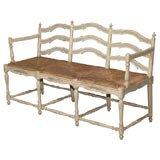French Country Style Bench