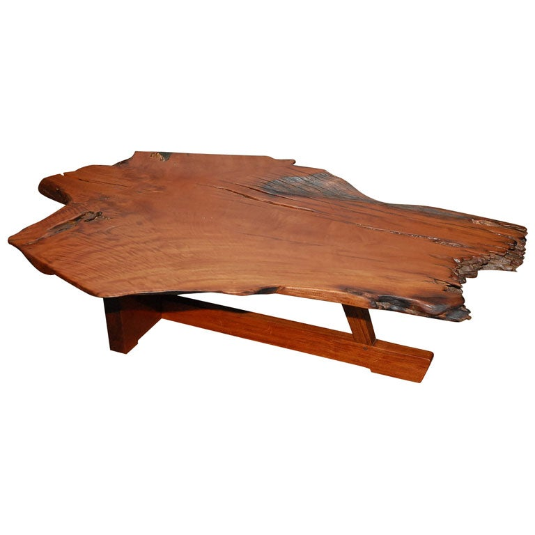 Nakashima Style Coffee Table At 1stdibs
