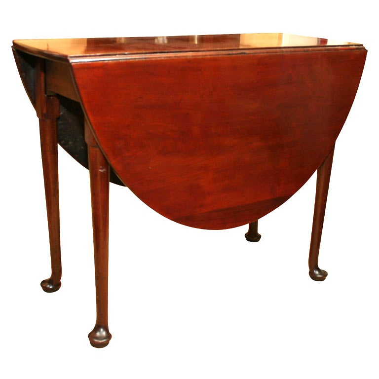 Queen Anne Drop Leaf Table At 1stdibs