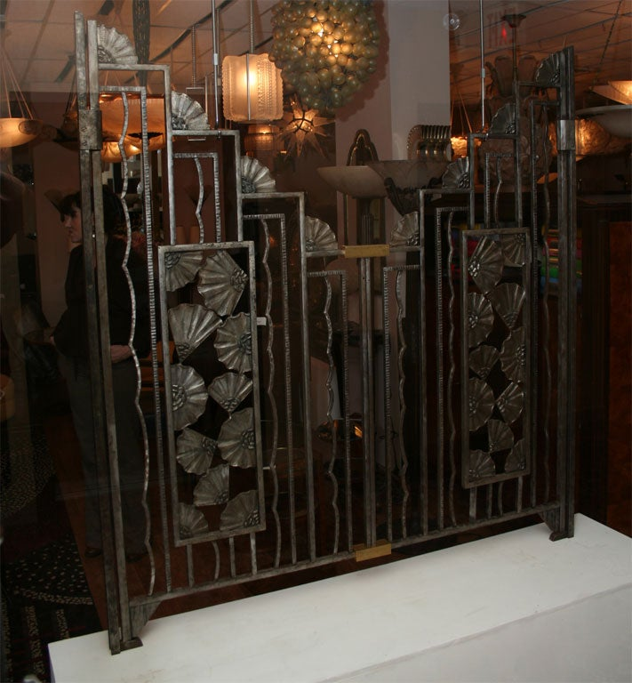 Art Deco Paris Apartment: A Rare French Art Deco Apartment Gate At 1stdibs