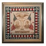 Campaign Bandanna:  Harrison/Morton1888