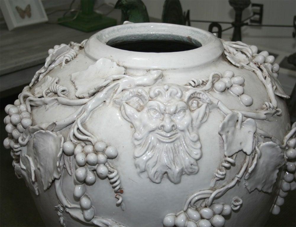 Vincent Garnier White Glazed Jar For Sale At 1stdibs