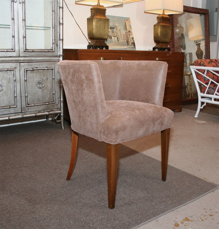 American Mid Century Tub Chair For Sale