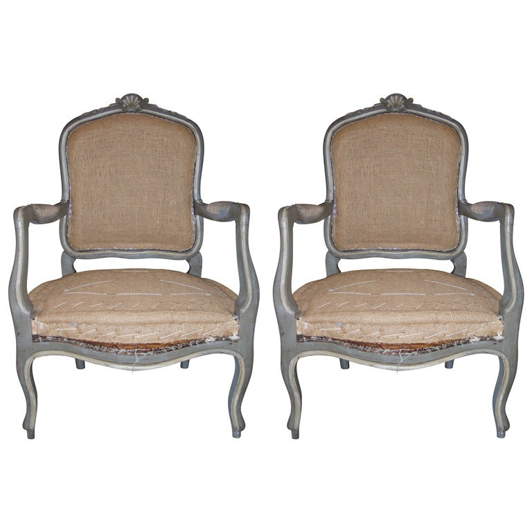 two 1940 1950 louis xv style armchairs at 1stdibs