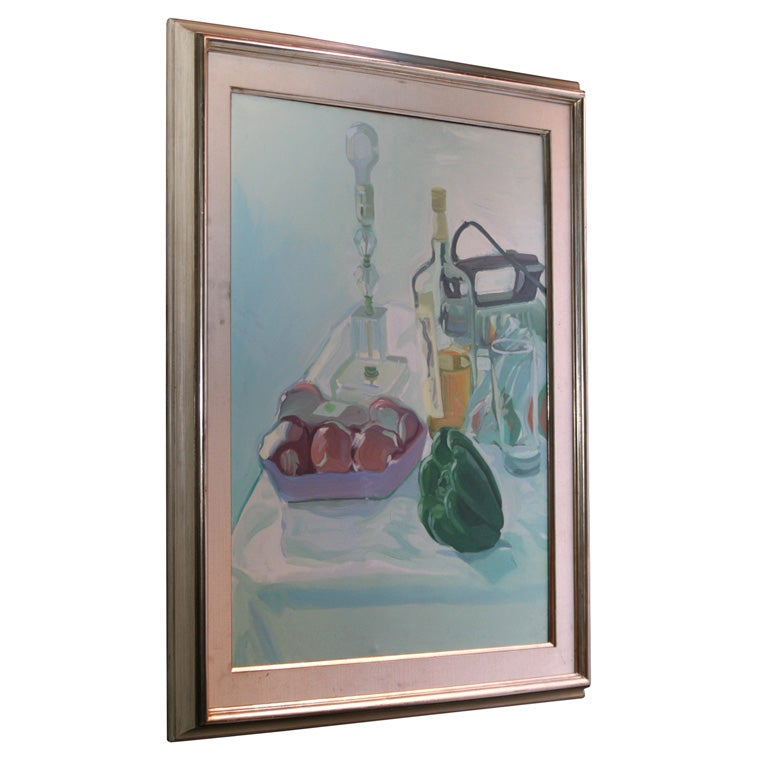 Tabletop Stillife Oil  Painting on Canvas