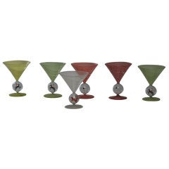 "Bimini Weiner Werksttate ""Hunt"" Martini Set"