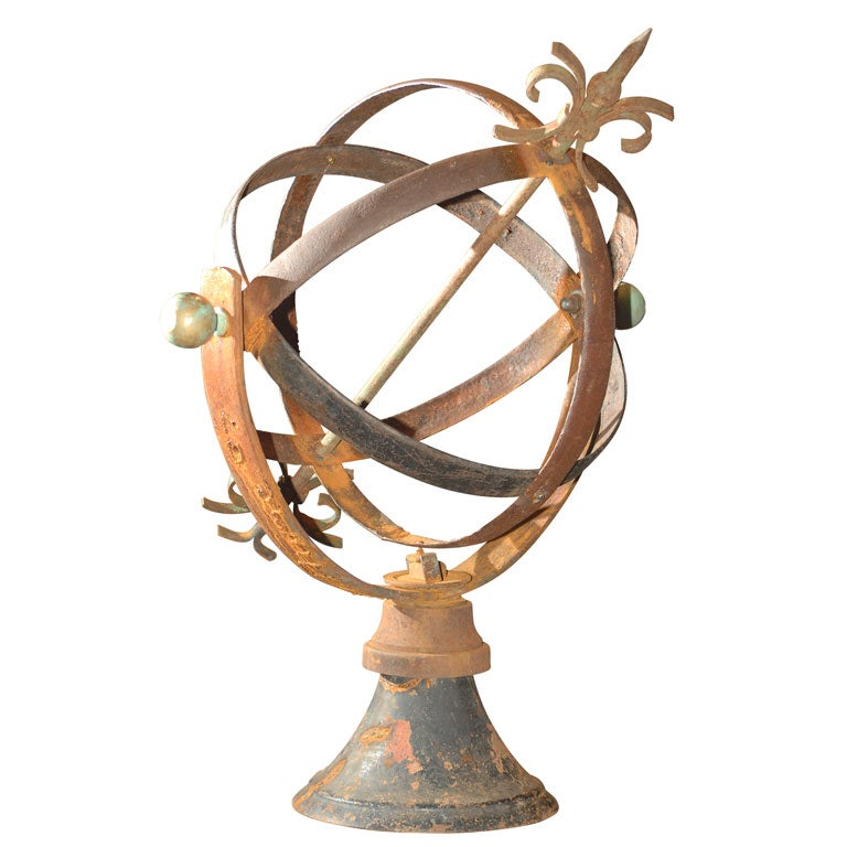 Industrial Armillary Sphere At 1stdibs