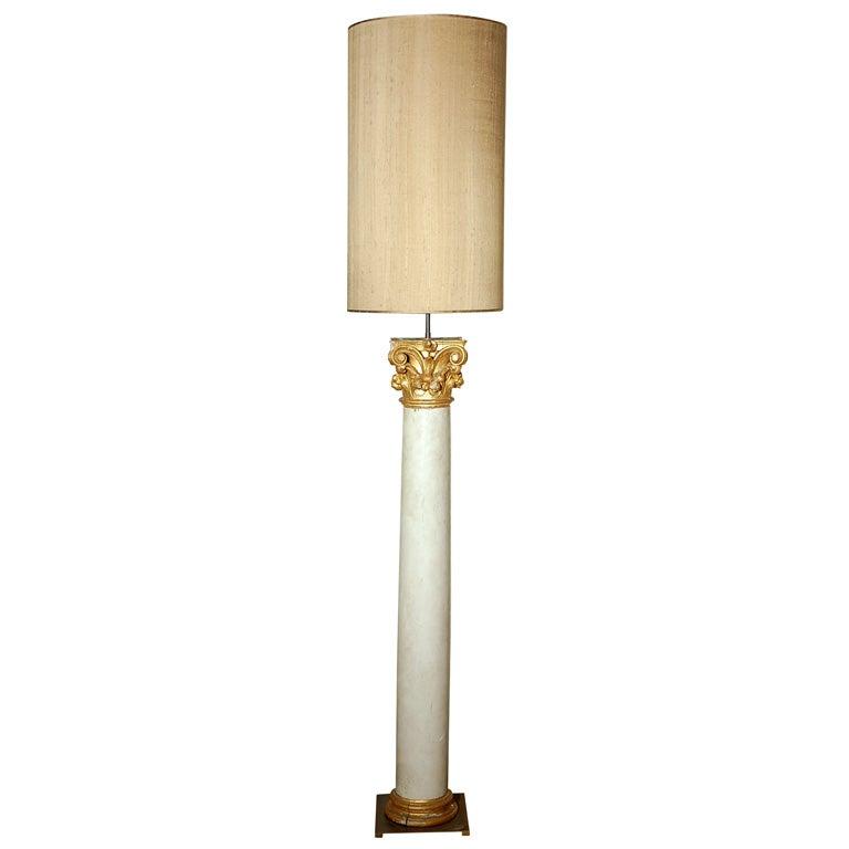 Pair of Colums  Floor Lamp