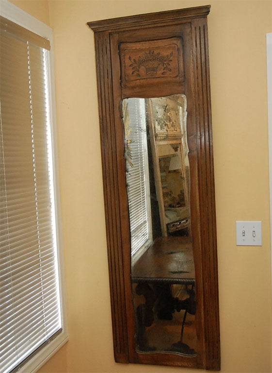 French Country Primitive Mirror At 1stdibs