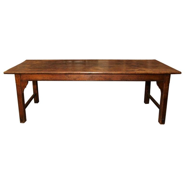English pine farmhouse table at 1stdibs