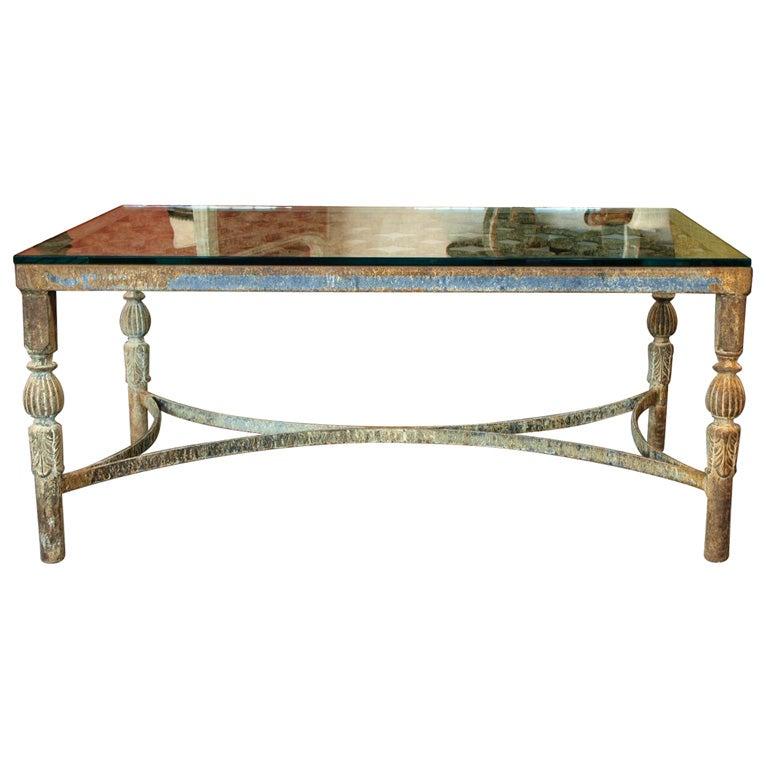 Iron Sofa Table