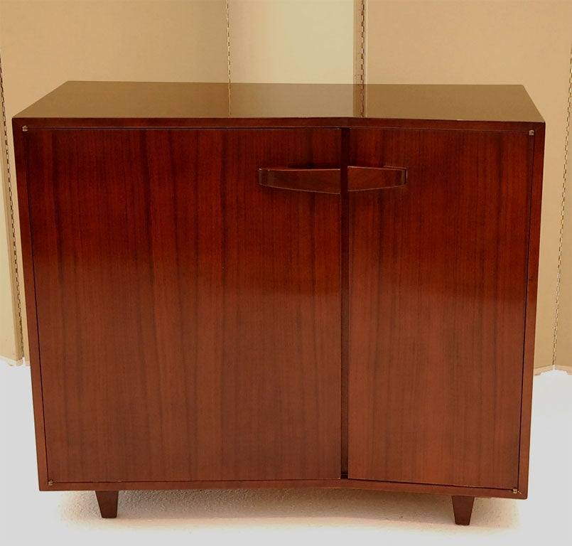 A Pair Of Asymmetrical Modern Cabinets Signed M Singer