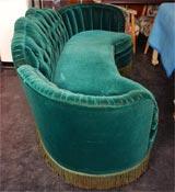 Grand Hotel Art Deco style sofa image 3
