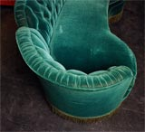 Grand Hotel Art Deco style sofa image 5