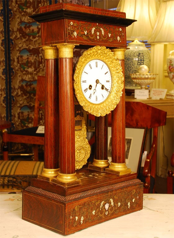 French Portico Clock At 1stdibs