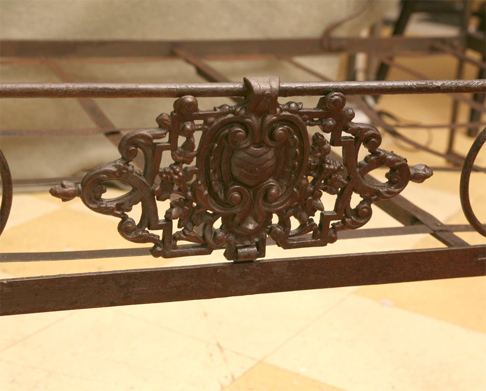 French Iron Folding Daybed For Sale 2