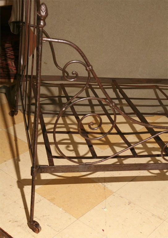 French Iron Folding Daybed For Sale 3