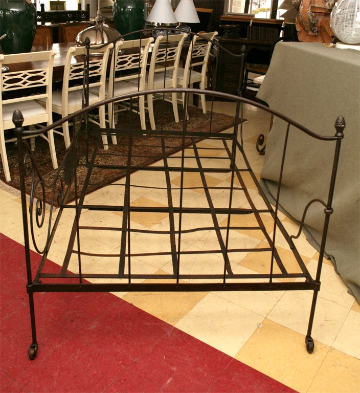 French Iron Folding Daybed For Sale 6