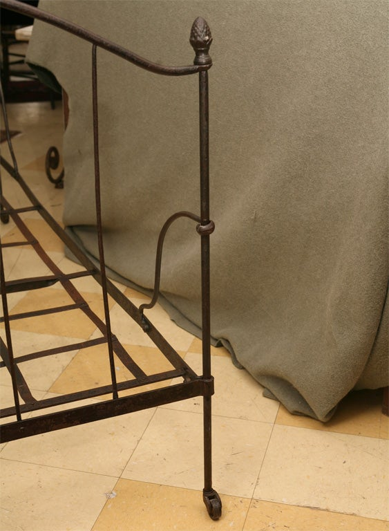 French Iron Folding Daybed For Sale 7