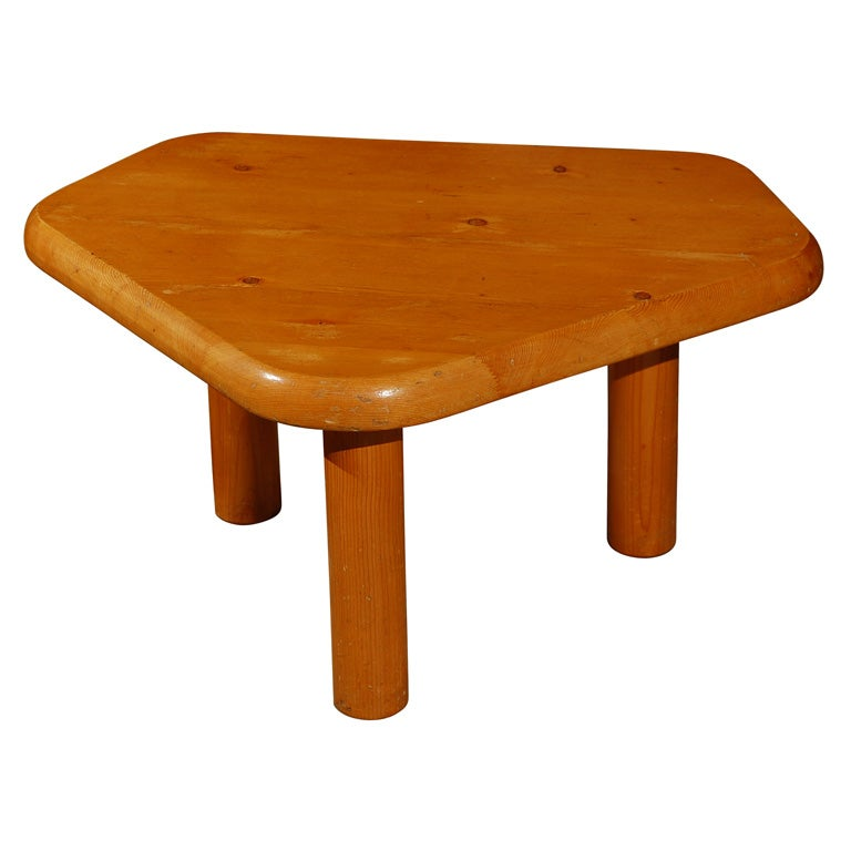 Charlotte perriand occasional table from hotel le doron meribel at 1stdibs - Table charlotte perriand ...