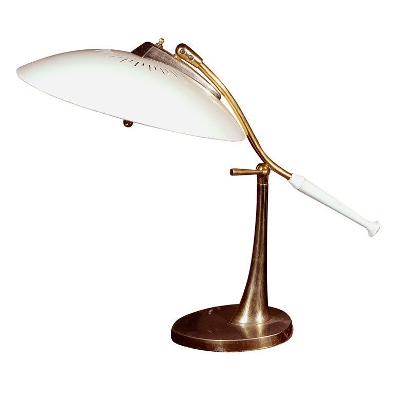 Artemide White Swivel Table Lamp At 1stdibs