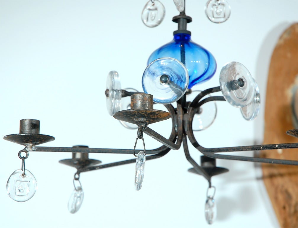 Eric Hoglund for Boda Hanging Glass Fixture at 1stdibs