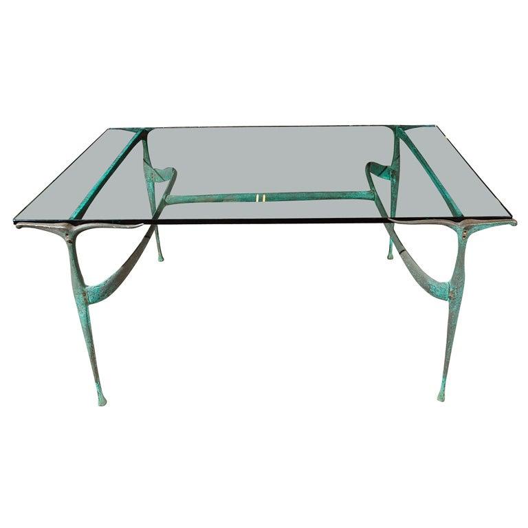 Dan Johnson Gazelle Dining Table, model 33B