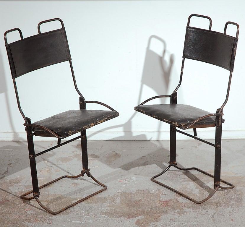Buffington Auto Folding Chairs at 1stdibs