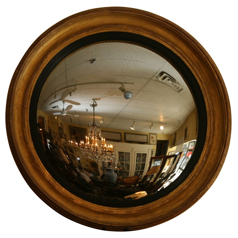 Convex mirror at 1stdibs for Convex mirror