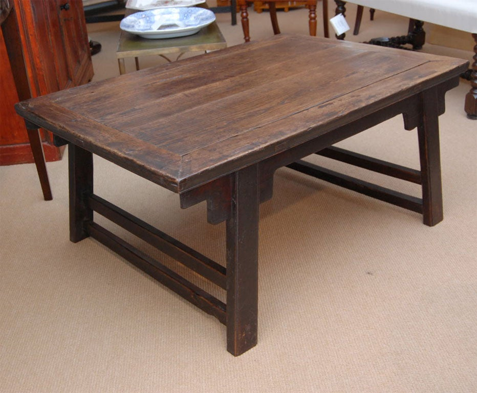 19th Century Chinese Elm Coffee Table At 1stdibs