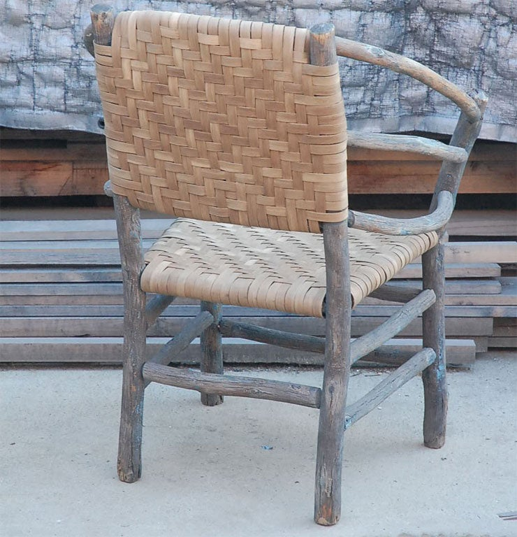 Old Hickory Arm Chair at 1stdibs
