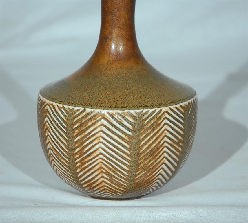 Scandinavian Modern Axel Salto Vase made by Royal Copenhagen For Sale