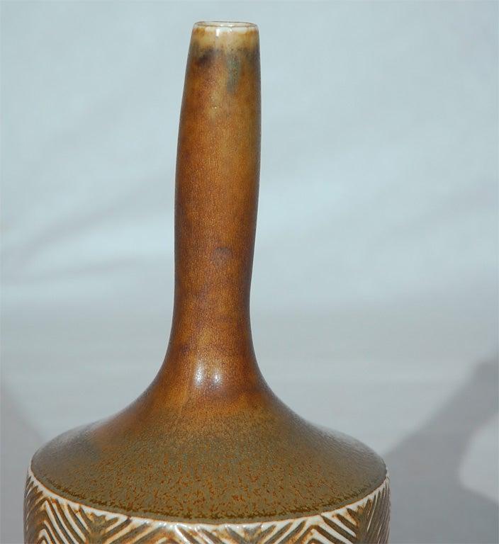 Danish Axel Salto Vase made by Royal Copenhagen For Sale