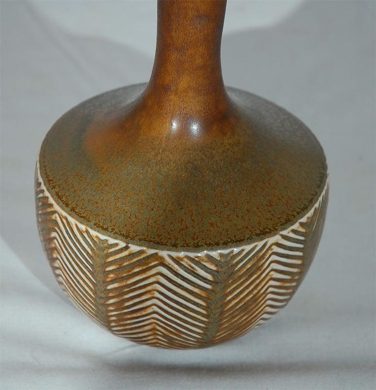 Axel Salto Vase made by Royal Copenhagen In Excellent Condition For Sale In Los Angeles, CA